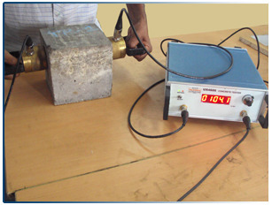 Image result for THE QUALITY OF CONCRETE BY ULTRASONIC PULSE VELOCITY METHOD