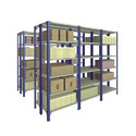 Stainless Steel Harihar Two Faced Joint Rack, For Warehouse