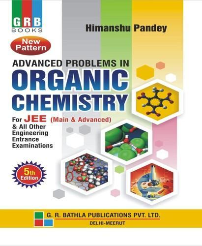 Organic Chemistry Book, Reference Books & Study Material | G R