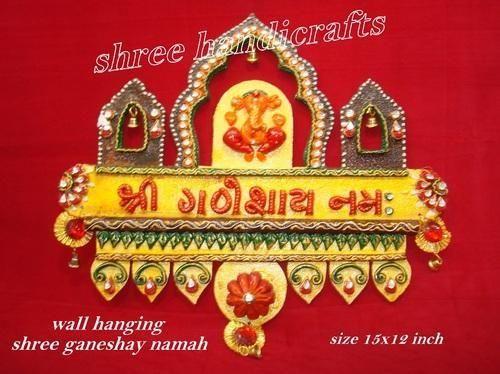 Wall Hanging Shri Ganeshay Namah at Rs 1075 /piece | Wall ...