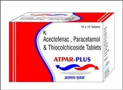 Aceclofenac Paracetamol Thiocholchicoside Tablets