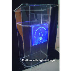 Lighted Logo Podium