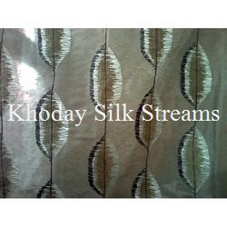 Polyester Embroidery Silk Fabric