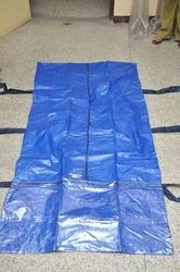 CENTER ZIPPER WITH TRANSPARENT SHEET Type Dead Body Bags
