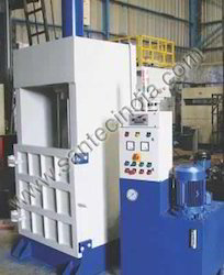 SANTEC Coir Fiber Baler, Production Capacity: 200 Ton