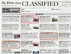 Classified Advertisement Services