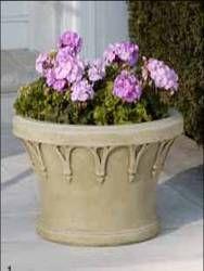 Beige Stone Flower Pot