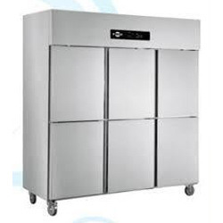 Stainless Steel Freezer Six Door