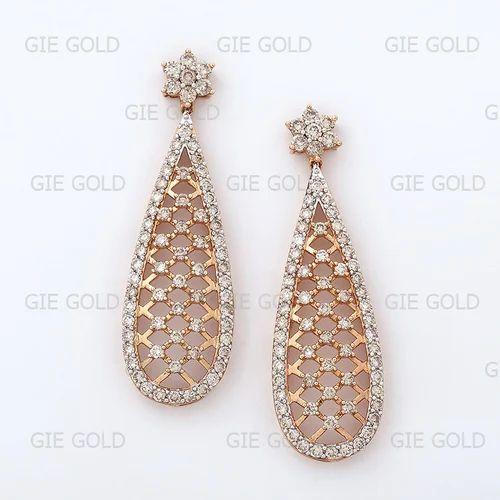 a9974bdde Designer Diamond Dangler Earring - Jewels Of Jaipur, Jaipur   ID ...