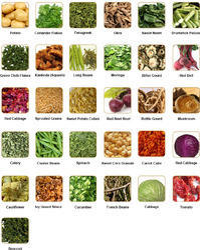 Dehydrated Vegtables