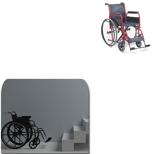 Manual Folding Wheelchair For Stairs Manufacturer From Chennai