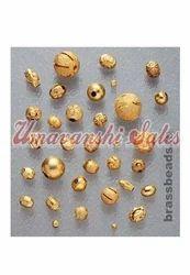 Fancy Brass Beads
