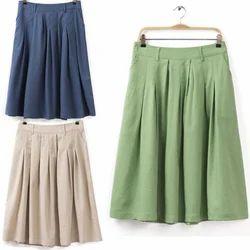 Womens Cotton Skirts in Delhi, Ladies Cotton Skirts Suppliers ...