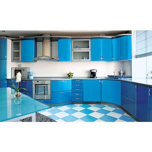 L Wooden Modular Kitchen Manufacturer: L Shaped Modular Kitchen Manufacturer
