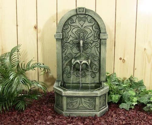 Outdoor Stone Fountain