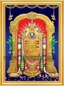 Lord Perumal - Tanjore Painting Poster