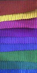 Color Catonic Slub Stripe Fabric