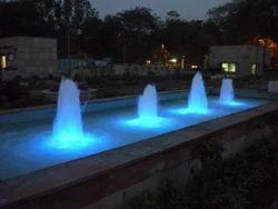 Steel Geyser Fountains