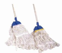 Cotton Frill Plastic Kent Mop Set
