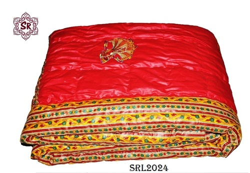 Double Bed Quilts   Jaipuri Block Print Double Bed Reversible Razai(Quilts)  Manufacturer From Jaipur