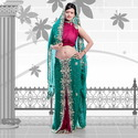 Embossed Georgette Saree