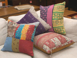 Kantha Quilted Pillow Covers