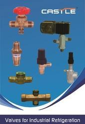 Castle Brass Angle Valve for Freon