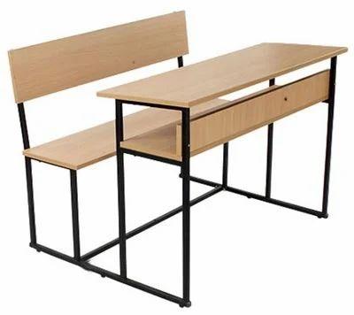 School Desk In Classroom