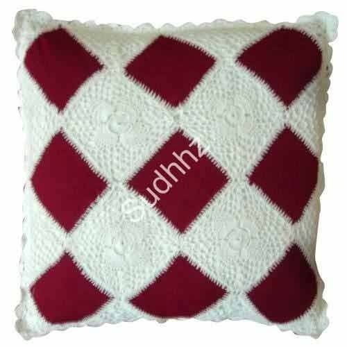 Crochet Pillow Covers, Cushion & Cushion Covers | Sudhhz in Vashi ...