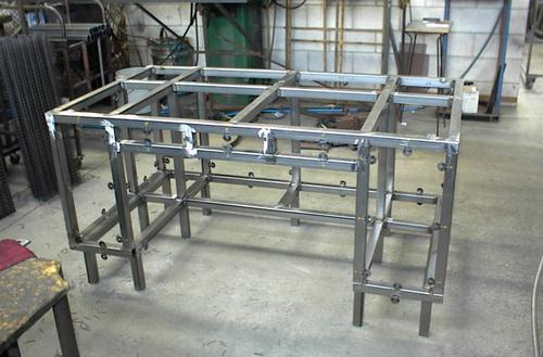 SS Frame Fabrication Service