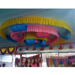 Ribbon Ceiling Tent
