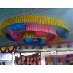 Ribbon Ceiling Tent