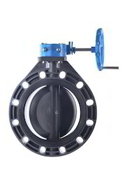 Worm Geared Butterfly Valve