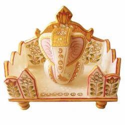 Hand Made Marble Ganesha
