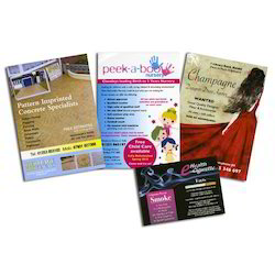 Printed Leaflets and Tags