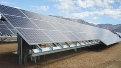 Solar Power Structures Galvanizing