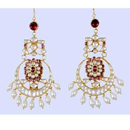 Chandelier earrings indian 22k gold plated bollywood kundan at rs chandelier earrings indian 22k gold plated bollywood kundan mozeypictures Image collections