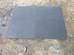 Black Natural Stone Tiles, Size: 24 Inch X 24 Inch