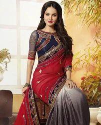Stylish Partywear Saree