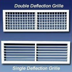 Double Deflection Grills