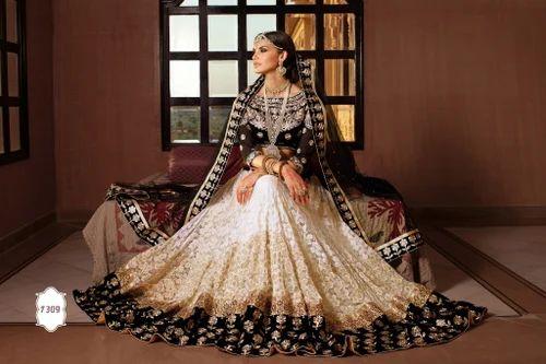 b4376dae28 Bridal Wedding Pakistani Ethnic Party Wear Bollywood Lehenga - 12 ...