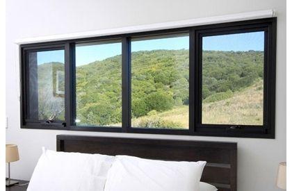 Aluminium windows at rs 350 sqft aluminium glass window for Window design aluminum