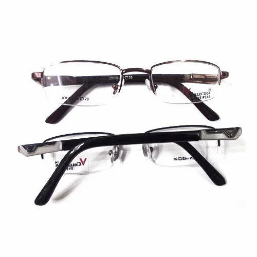 John V Collection Half Rimless Frames at Rs 100 /piece | Rimless ...