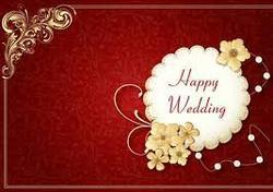 Wedding Card Flyers Brochures Designing Service Provider From