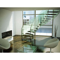 Stainless Steel Railing & Glass