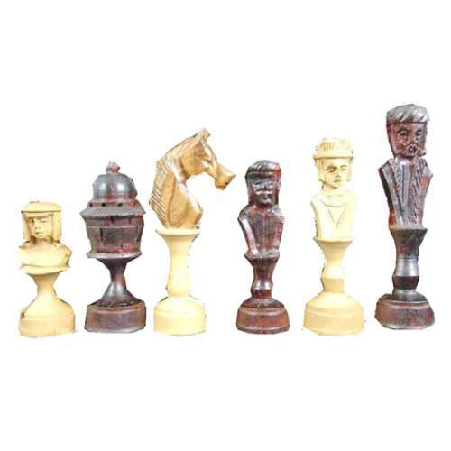 Africa Chess Set 6 Day War Chess Set Exporter From New Delhi