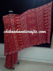 Chikankari Wedding Saree