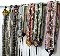 JK Handicraft Multicolor Vintage Banjara Belts Gypsy Belly Dance Belts