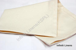 Cotton Diamond All Over Ivory Cocktail Napkin