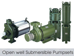 Open Well Submersible Pump Sets